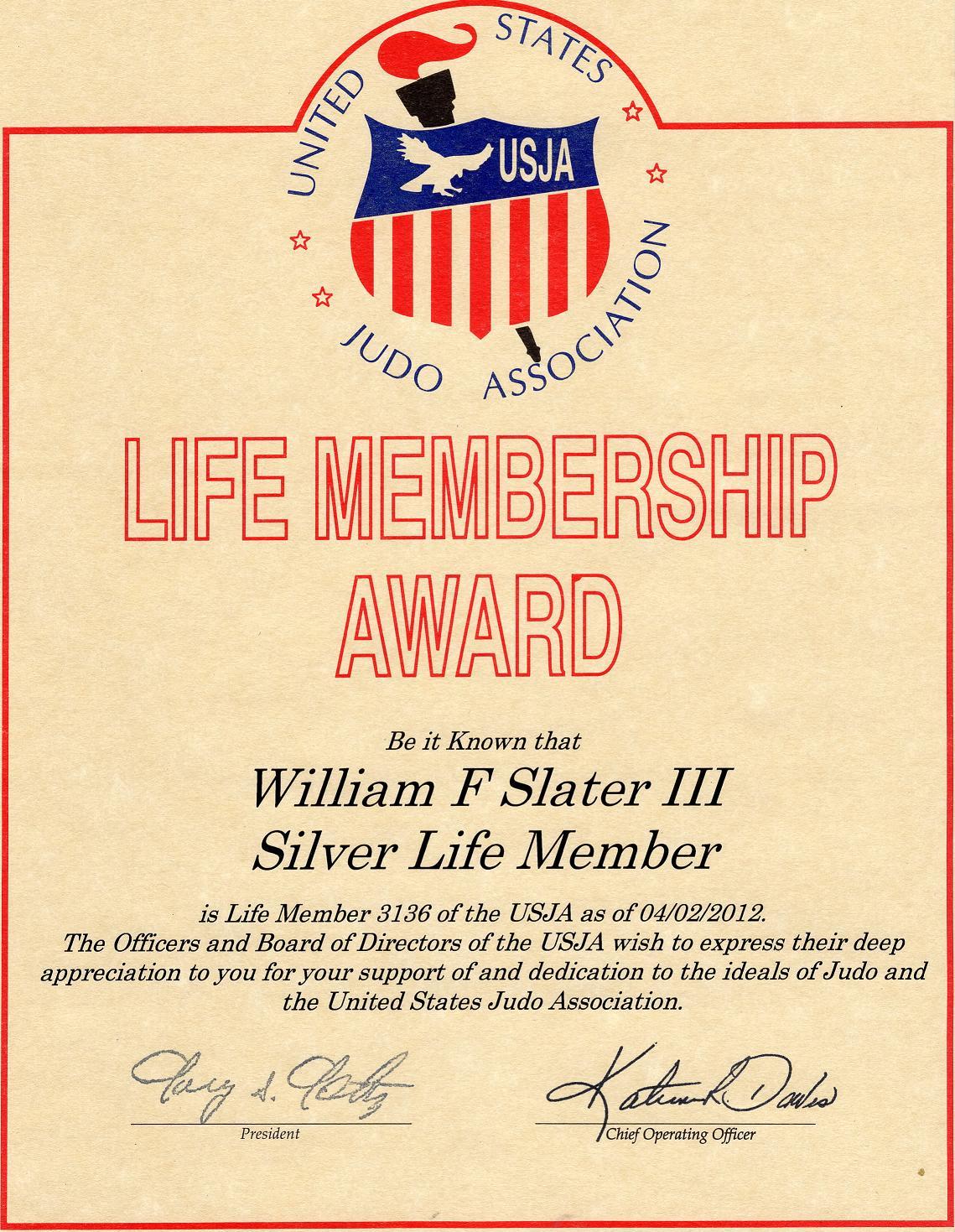 My Judo Page - William F  Slater, III - BILLSLATER com