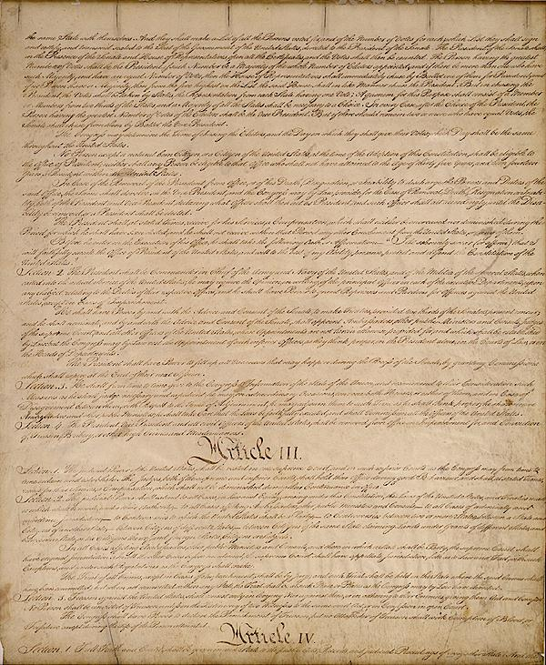 U S Constitution With Amendments